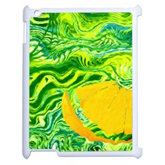 Zitro Abstract Sour Texture Food Apple Ipad 2 Case (white)