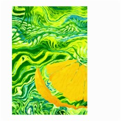 Zitro Abstract Sour Texture Food Small Garden Flag (two Sides)