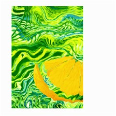 Zitro Abstract Sour Texture Food Large Garden Flag (two Sides)