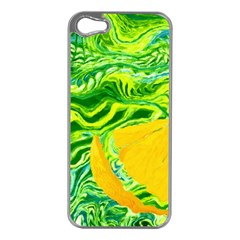 Zitro Abstract Sour Texture Food Apple Iphone 5 Case (silver)