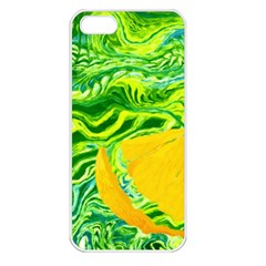 Zitro Abstract Sour Texture Food Apple Iphone 5 Seamless Case (white)