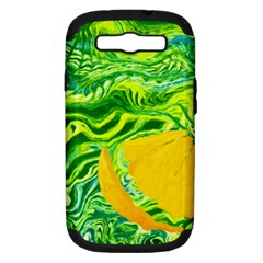 Zitro Abstract Sour Texture Food Samsung Galaxy S Iii Hardshell Case (pc+silicone)