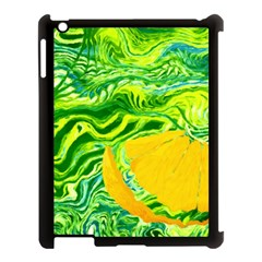 Zitro Abstract Sour Texture Food Apple Ipad 3/4 Case (black)