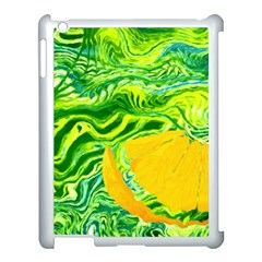 Zitro Abstract Sour Texture Food Apple Ipad 3/4 Case (white)