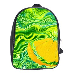 Zitro Abstract Sour Texture Food School Bags (xl)