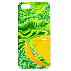 Zitro Abstract Sour Texture Food Apple Iphone 5 Hardshell Case With Stand