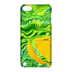 Zitro Abstract Sour Texture Food Apple Ipod Touch 5 Hardshell Case With Stand