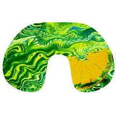 Zitro Abstract Sour Texture Food Travel Neck Pillows