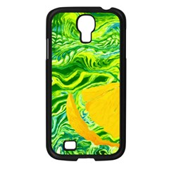 Zitro Abstract Sour Texture Food Samsung Galaxy S4 I9500/ I9505 Case (black)