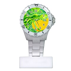 Zitro Abstract Sour Texture Food Plastic Nurses Watch