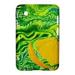 Zitro Abstract Sour Texture Food Samsung Galaxy Tab 2 (7 ) P3100 Hardshell Case