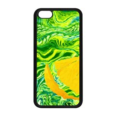 Zitro Abstract Sour Texture Food Apple Iphone 5c Seamless Case (black)