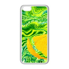 Zitro Abstract Sour Texture Food Apple Iphone 5c Seamless Case (white)