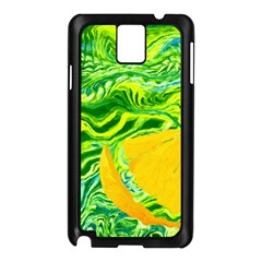 Zitro Abstract Sour Texture Food Samsung Galaxy Note 3 N9005 Case (black)