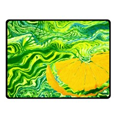 Zitro Abstract Sour Texture Food Double Sided Fleece Blanket (small)