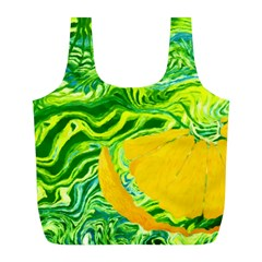 Zitro Abstract Sour Texture Food Full Print Recycle Bags (l)