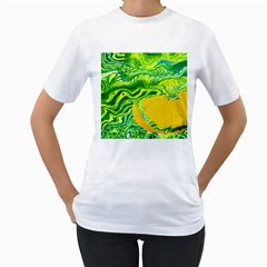 Zitro Abstract Sour Texture Food Women s T Shirt (white)