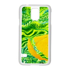 Zitro Abstract Sour Texture Food Samsung Galaxy S5 Case (white)