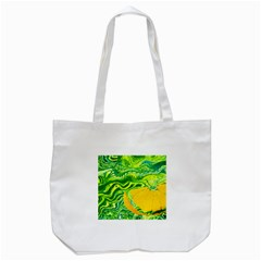 Zitro Abstract Sour Texture Food Tote Bag (white)