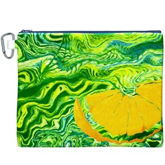 Zitro Abstract Sour Texture Food Canvas Cosmetic Bag (xxxl)