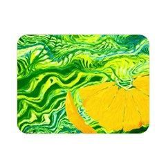 Zitro Abstract Sour Texture Food Double Sided Flano Blanket (mini)