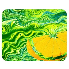 Zitro Abstract Sour Texture Food Double Sided Flano Blanket (medium)