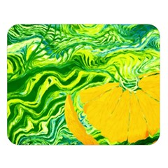 Zitro Abstract Sour Texture Food Double Sided Flano Blanket (large)