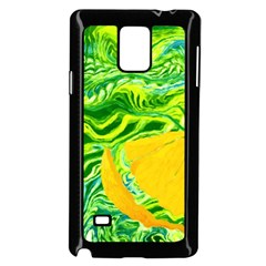 Zitro Abstract Sour Texture Food Samsung Galaxy Note 4 Case (black)