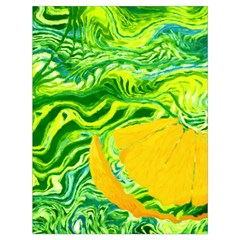 Zitro Abstract Sour Texture Food Drawstring Bag (large)