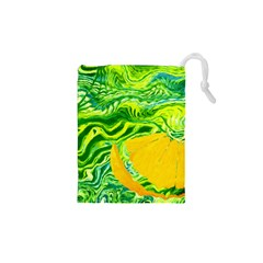 Zitro Abstract Sour Texture Food Drawstring Pouches (xs)