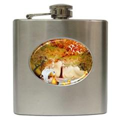 Art Kuecken Badespass Arrangemen Hip Flask (6 oz)