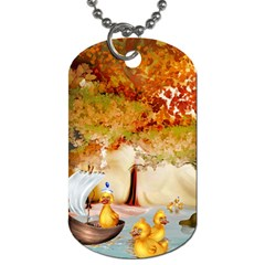 Art Kuecken Badespass Arrangemen Dog Tag (two Sides)
