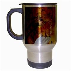 Art Kuecken Badespass Arrangemen Travel Mug (silver Gray)