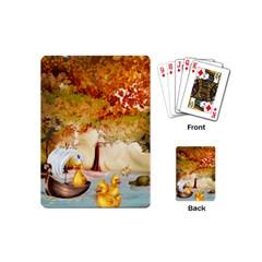 Art Kuecken Badespass Arrangemen Playing Cards (mini)