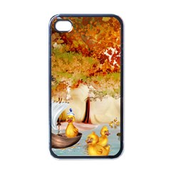 Art Kuecken Badespass Arrangemen Apple Iphone 4 Case (black)