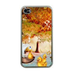 Art Kuecken Badespass Arrangemen Apple Iphone 4 Case (clear)