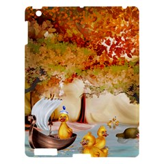 Art Kuecken Badespass Arrangemen Apple Ipad 3/4 Hardshell Case