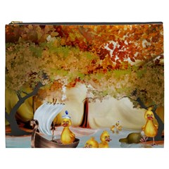 Art Kuecken Badespass Arrangemen Cosmetic Bag (xxxl)