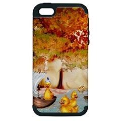 Art Kuecken Badespass Arrangemen Apple Iphone 5 Hardshell Case (pc+silicone)