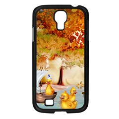 Art Kuecken Badespass Arrangemen Samsung Galaxy S4 I9500/ I9505 Case (black)