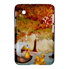 Art Kuecken Badespass Arrangemen Samsung Galaxy Tab 2 (7 ) P3100 Hardshell Case