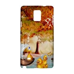Art Kuecken Badespass Arrangemen Samsung Galaxy Note 4 Hardshell Case