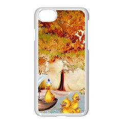 Art Kuecken Badespass Arrangemen Apple Iphone 7 Seamless Case (white)