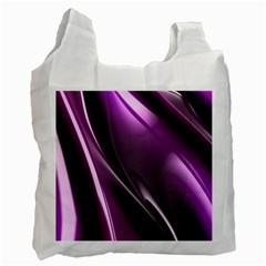 Fractal Mathematics Abstract Recycle Bag (two Side)