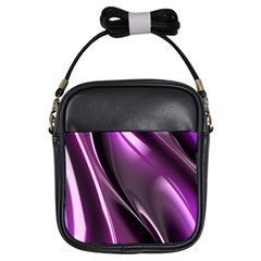 Fractal Mathematics Abstract Girls Sling Bags