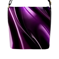 Fractal Mathematics Abstract Flap Messenger Bag (l)