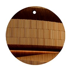 Architecture Art Boxes Brown Ornament (round)