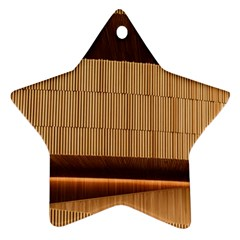 Architecture Art Boxes Brown Ornament (star)