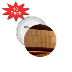 Architecture Art Boxes Brown 1 75  Buttons (10 Pack)