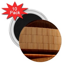 Architecture Art Boxes Brown 2.25  Magnets (10 pack)